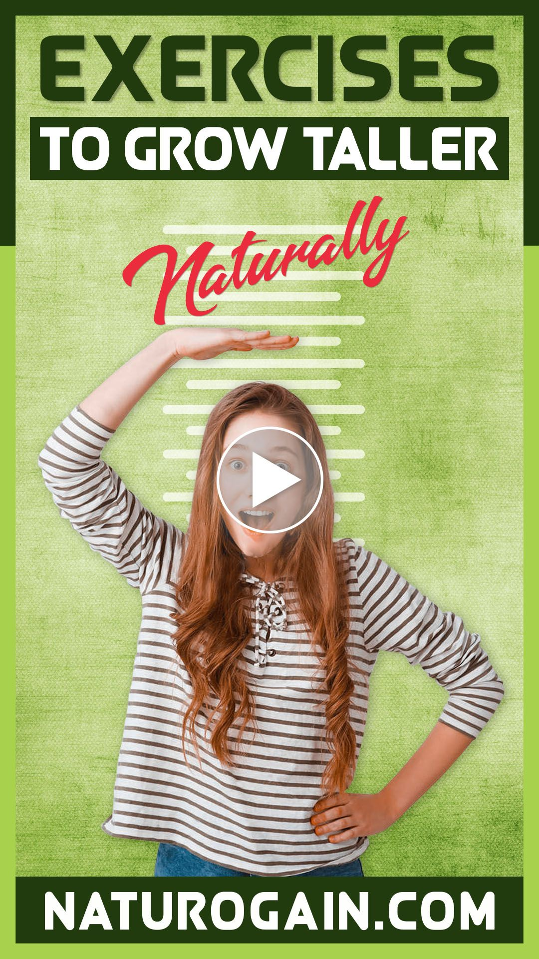 Exercises to Grow Taller Naturally at Home