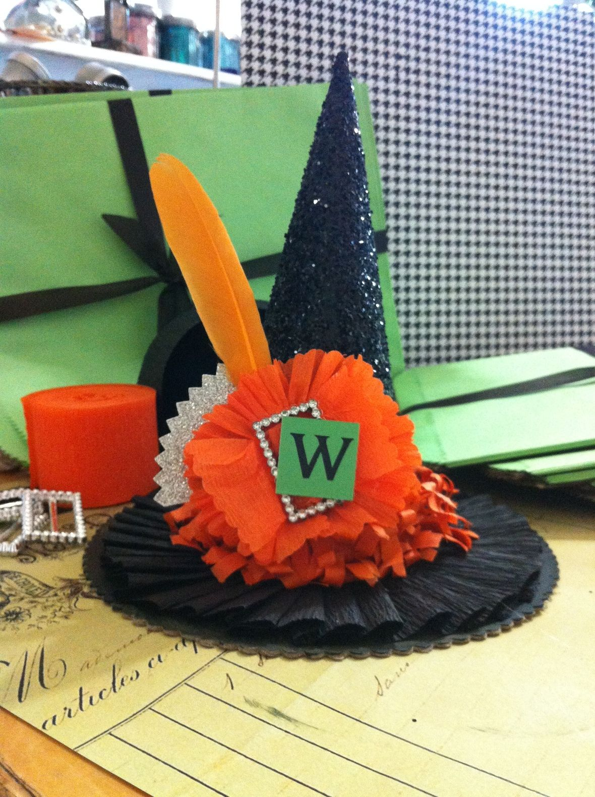 Witches Hat Box