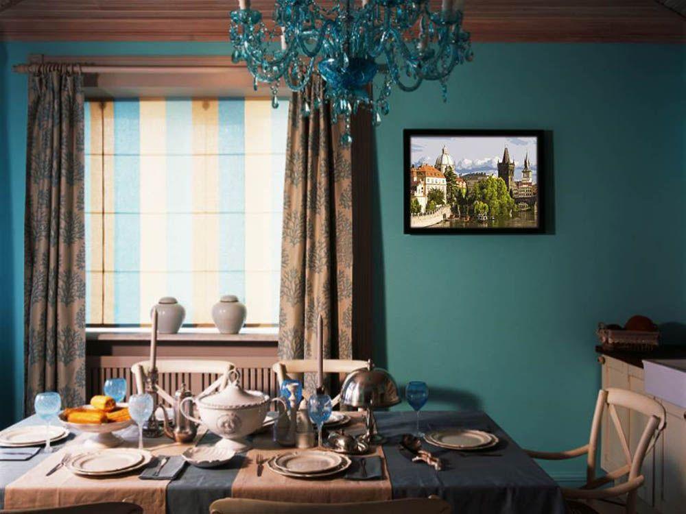 Картина по номерам «Прага» | Интерьер, Гостиная в стиле ...