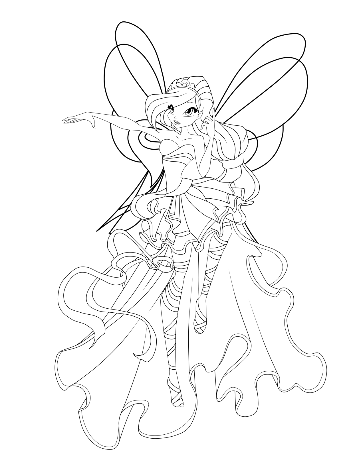 Winx Sirenix Coloring Pages Fairy Coloring Pages Hello Kitty Colouring Pages Cartoon Coloring Pages