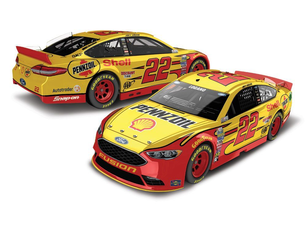 Joey Logano 2017 22 Shell Pennzoil 164 ARC PREORDER