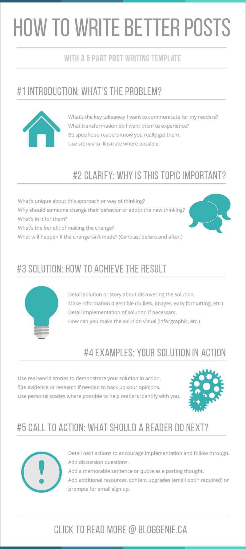 How to Consistently Write Better Blog Posts [Infographic