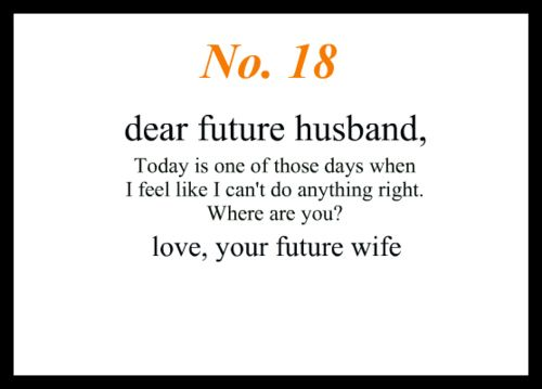 Cute Love Quotes For Your Future Husband Image Quotes At: Little Love Notes To My Future Husband #18 (Doesn't Apply