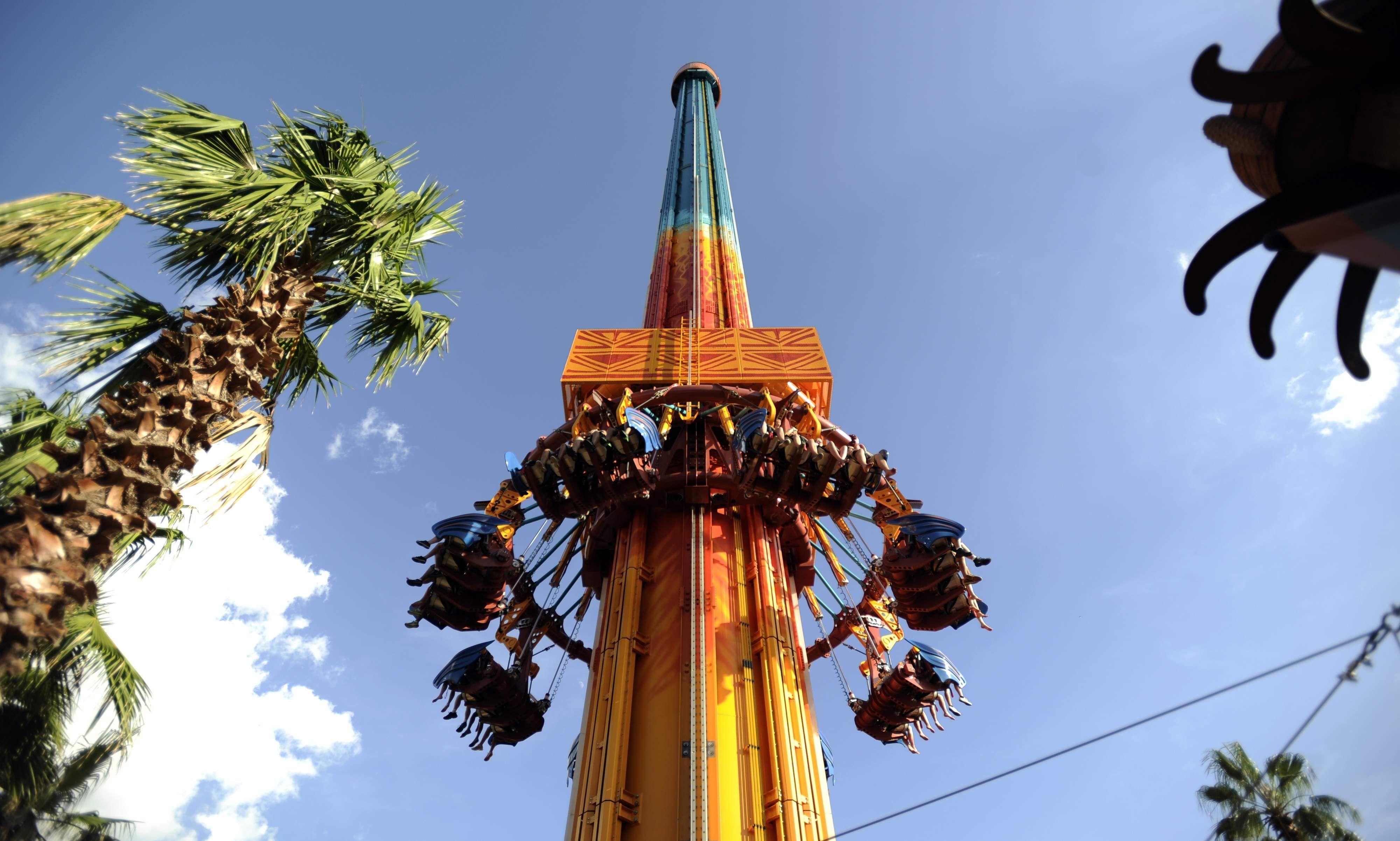 Falcons Fury Busch Gardens Tampa Busch Gardens Tampa