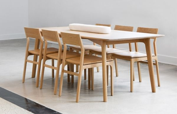 Kastella Handcrafted In Montreal Collection Dining T107 Dining Table Solid Wood Dining Table Dining