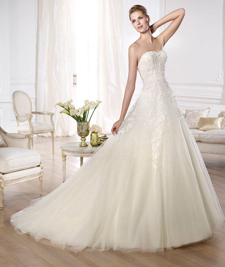 Pronovias Olaya Size 8 Wedding Dress Oncewed Some Day 3