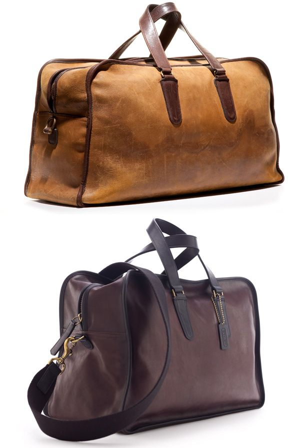 Great gym bags made from vintage 1930s baseball gloves. Love it. 4edaaaeca