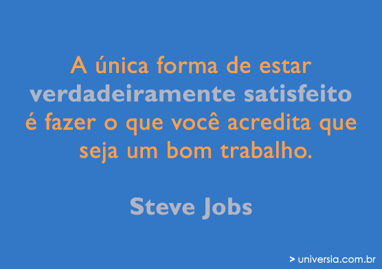 Frases De Agradecimento Profissional: 15 Frases Motivacionais De Steve Jobs