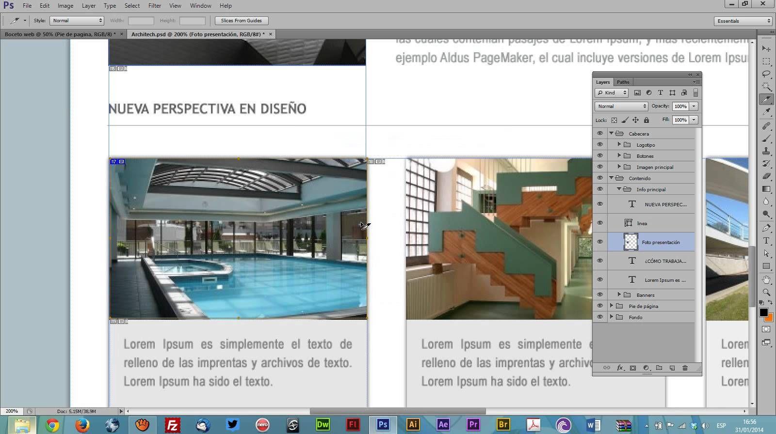Crea tu pagina web - Boceto web # 1 | Diseño Web