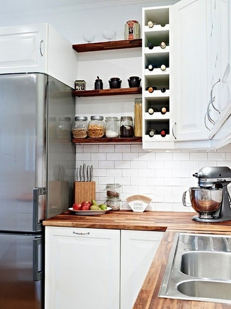 35 Present Kitchen Designs With Open Shelving New Kitchen