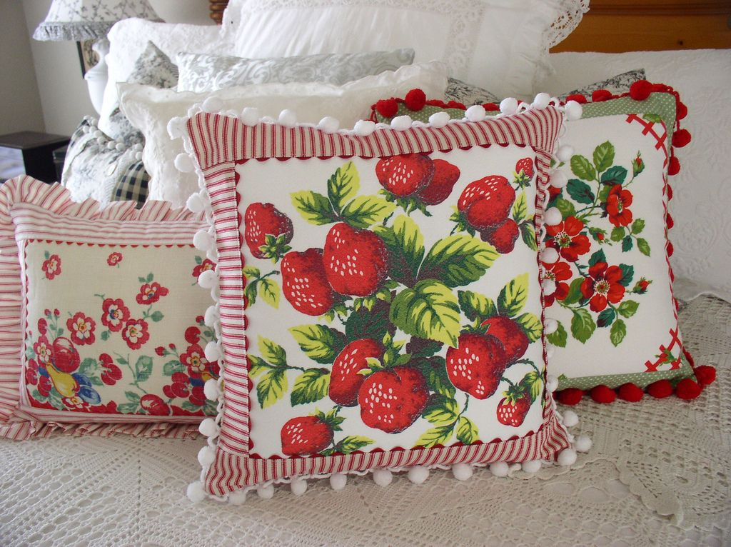 Pillows I made | by sweetcottagedreams