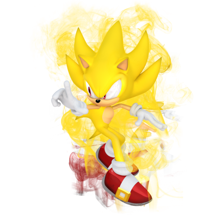 Super Sonic Render 2016 By Jaysonjean On Deviantart Sonic Sonic Dash Sonic The Hedgehog