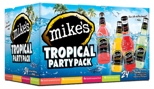 Mikes Tropical Party Pack Web Png 315 181 Alcohol Party Party Packs Tropical Party