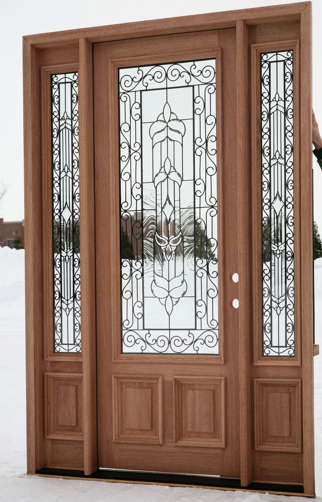 single front doors with glass. Doors: Elegant Design Single Glass Front Doors With Beautiful White Colors From Some Points You S