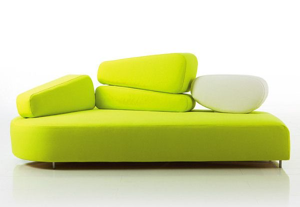 Neon Green Couch