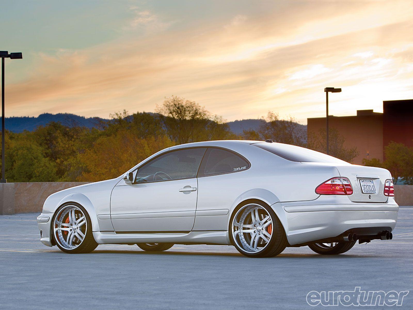 Mercedes benz clk 55 amg coupe