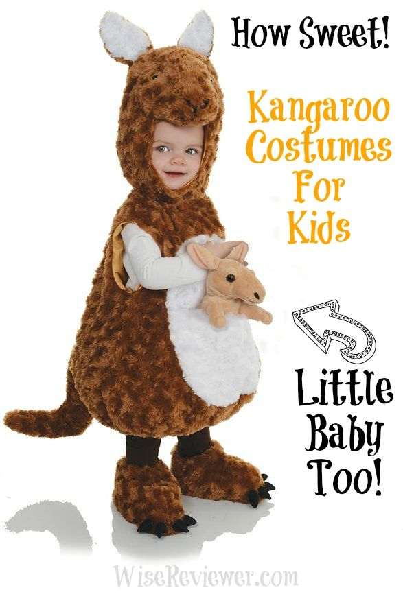 kangaroo costumes for kids complete with kangaroo baby. Black Bedroom Furniture Sets. Home Design Ideas