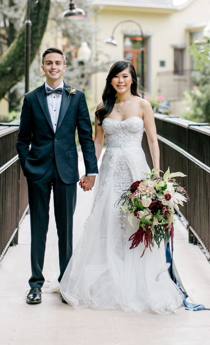 Bow tie is always a good idea wedding bowtie