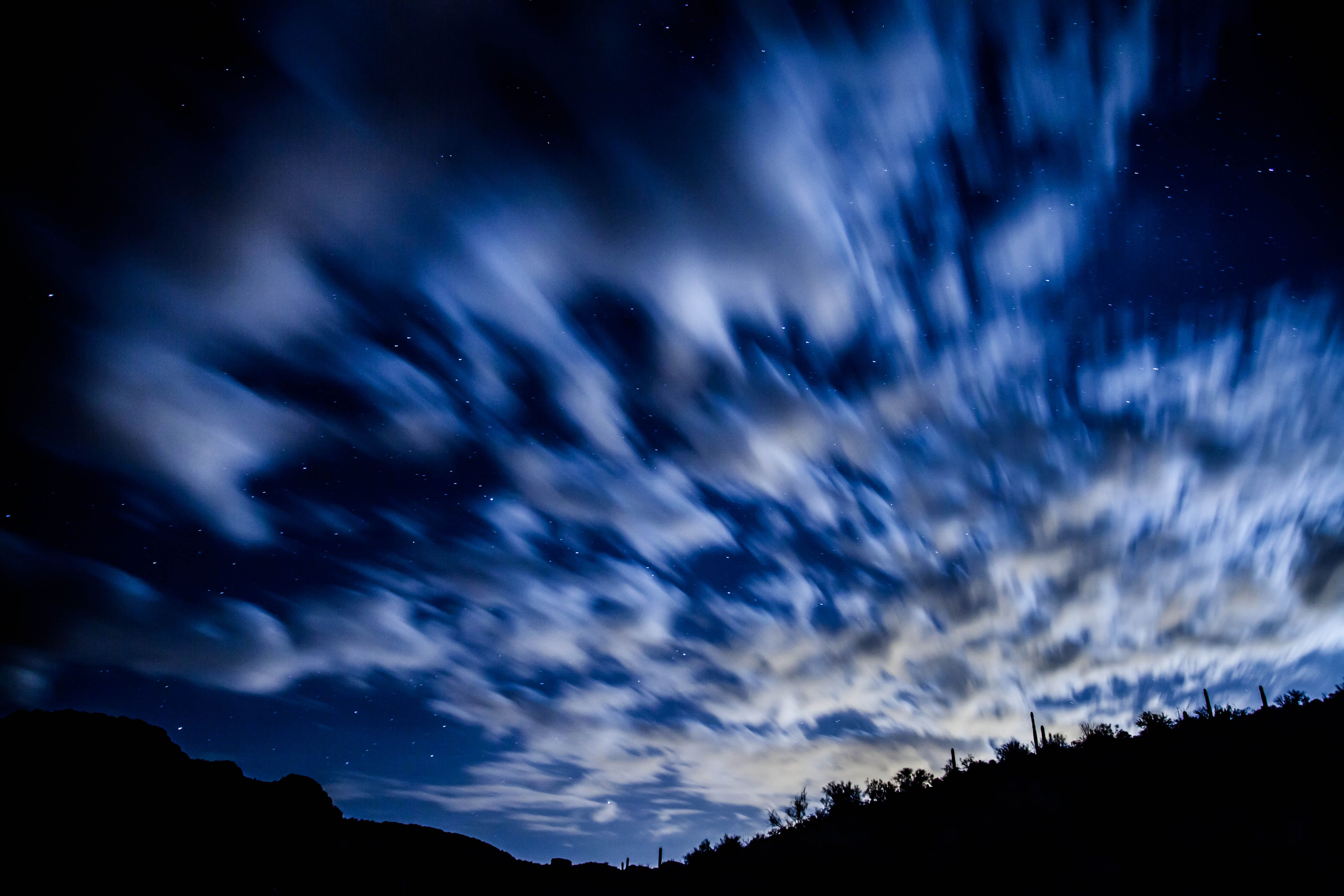 Night Sky at Canyon Lake Arizona Books Worth Reading