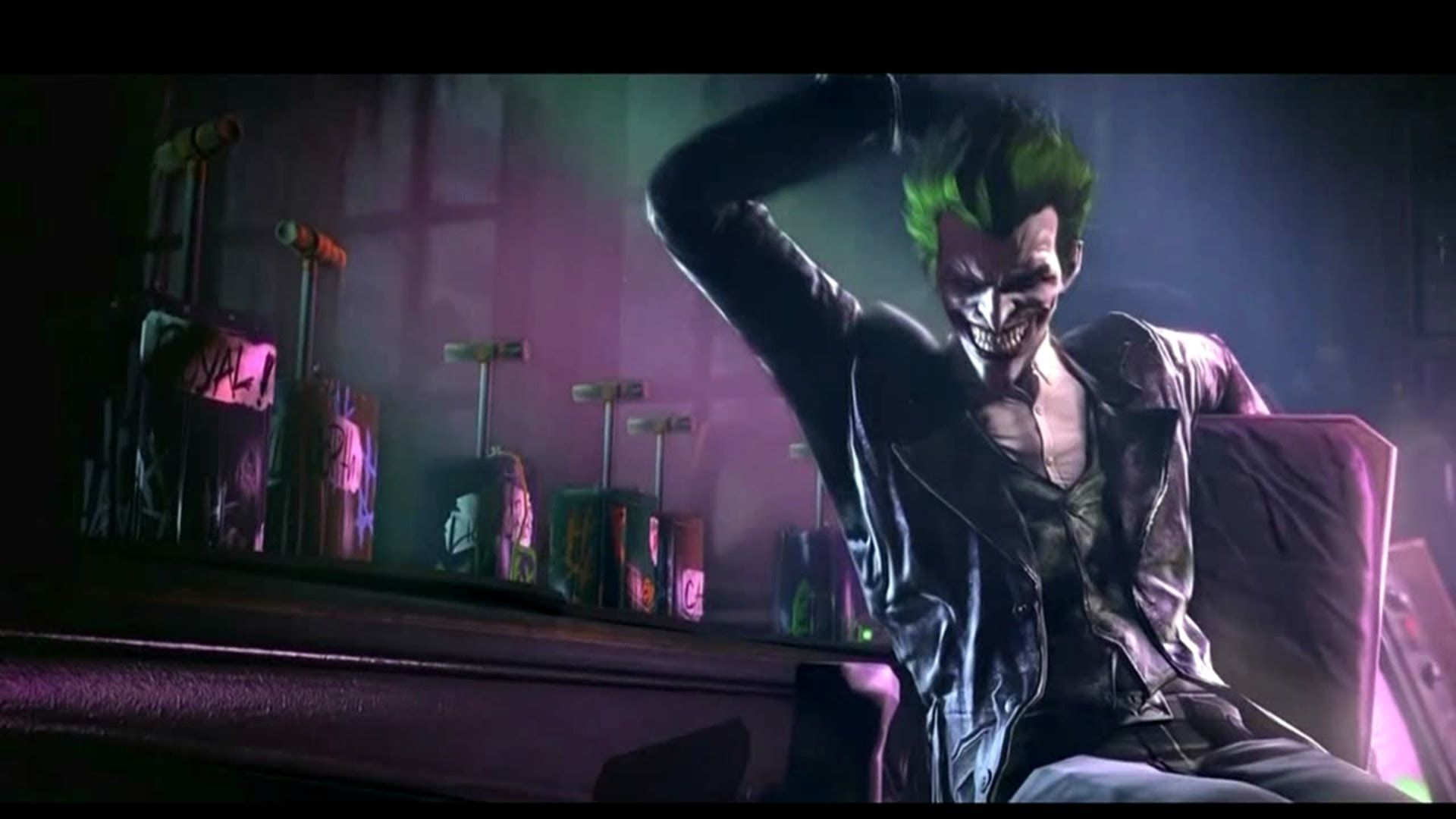 Joker screenshot origins google batman joker co batman arkham origins joker and bane trailer voltagebd Gallery