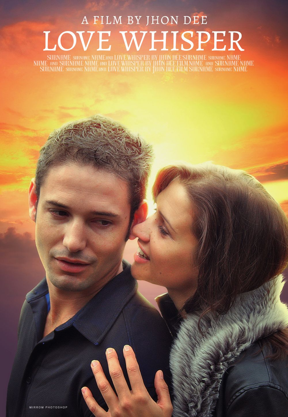 Create A Simple Romantic Movie Poster In Photoshop Cc Romantic
