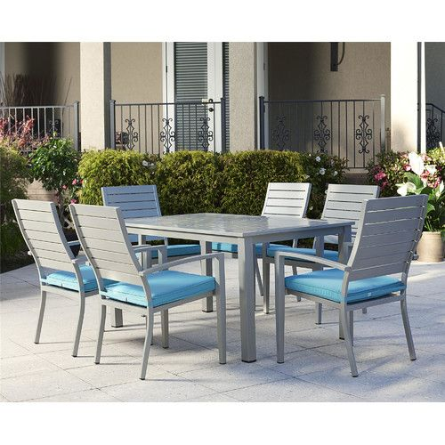 Found it at Wayfair - Julien 7 Piece Dining Set with Cushion ...