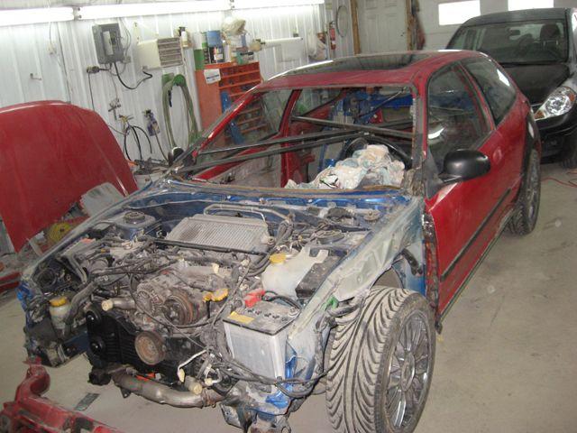 Project: First world Civic powered by Subaru - Honda-Tech
