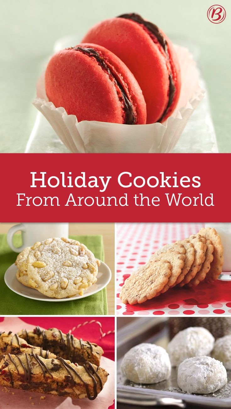 Cookies from Around the World Christmas baking, Holiday