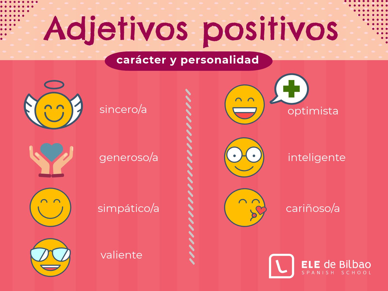 Adjetivos Positivos En Español Para Describir El Carácter De Las Personas Lingua Espanhola Signos Do Zodíaco Espanhol