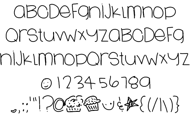 LoveSweets Font by Des | Hand lettering alphabet, Hand ...