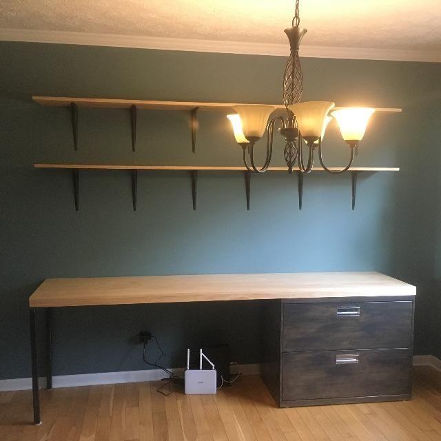 Diy Brushed Steel Cabinet Desk Metal Filing Cabinet Diy Furniture Furniture Makeover