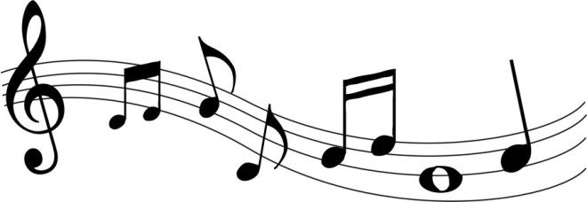 660x228 Wavy Music Staff Clipart Music Notes Drawing Music Drawings Music Notes