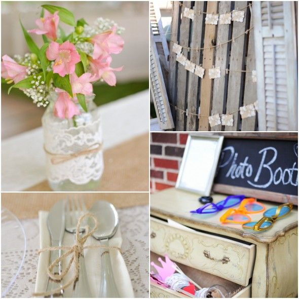 Country Do It Yourself Wedding Country Wedding Decorations