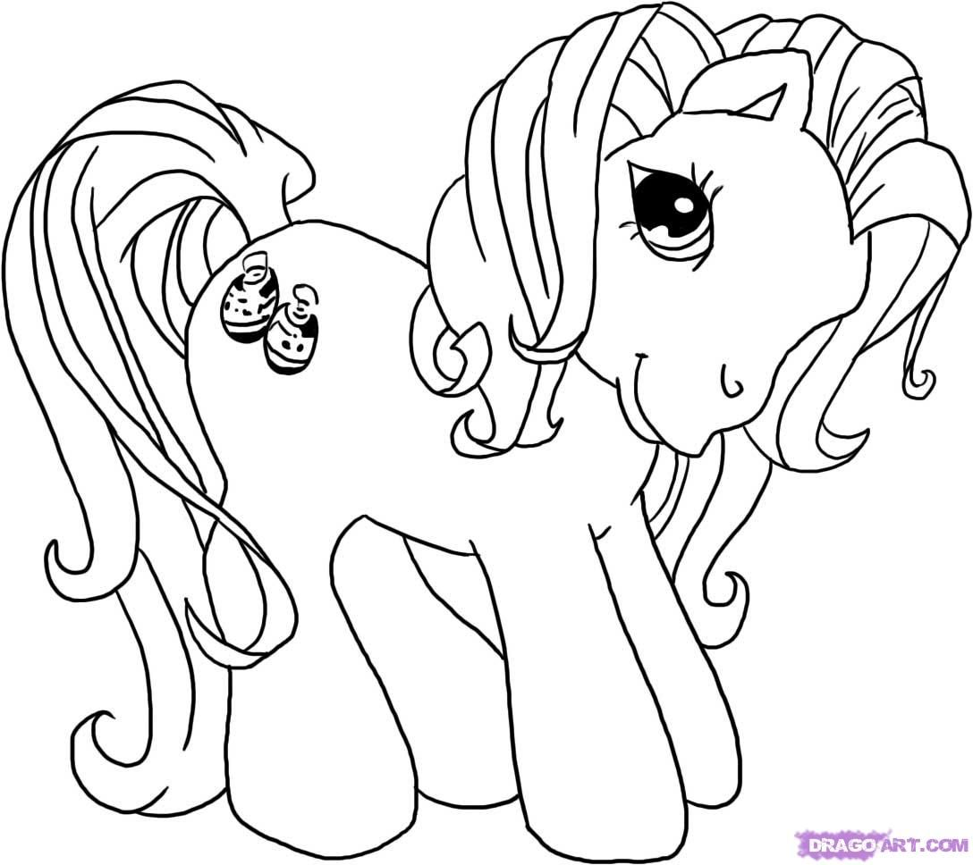 My Little Pony Coloring Pages Free Printable Pictures Coloring Pages For Kids My Little Pony Coloring Original My Little Pony Vintage My Little Pony