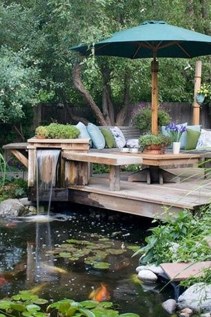Top Landscape Yard Design Ideas And Photos Zillow Digs Backyard Ponds Backyard Beautiful Backyards