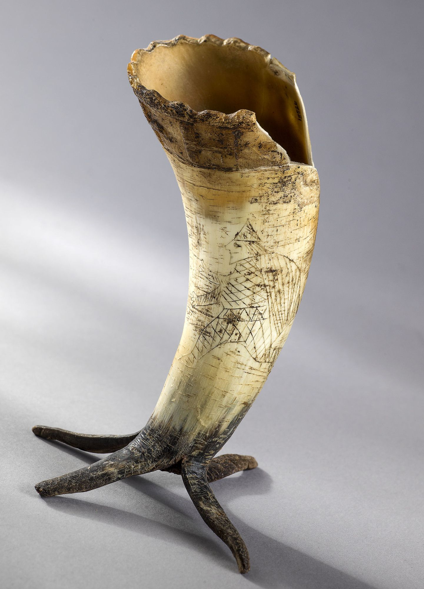 Medieval Drinking Horn Norway