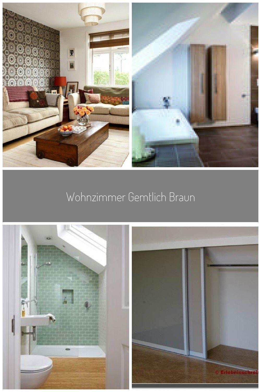 Wohnzimmer Gemtlich Braun Schlafzimmer Ideen Wohnzimmer