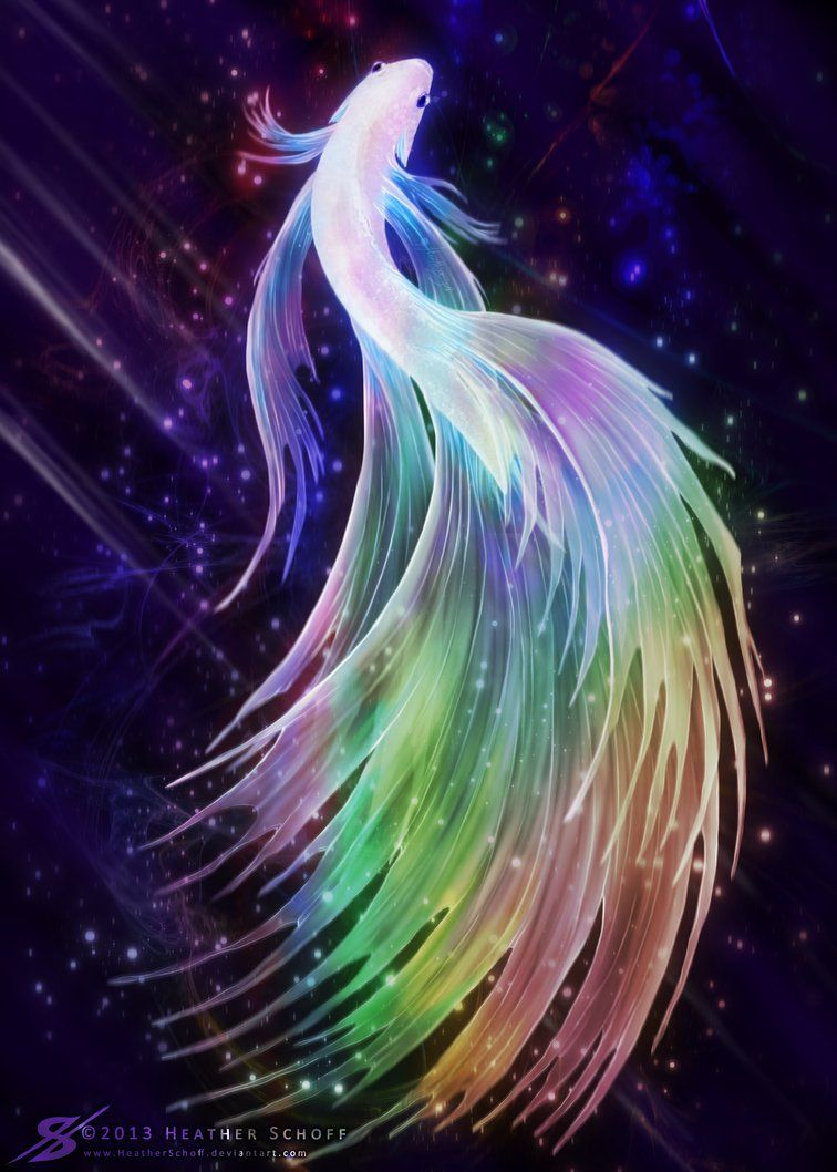 Betta fish prism by heatherschoff on deviantart for Betta fish painting