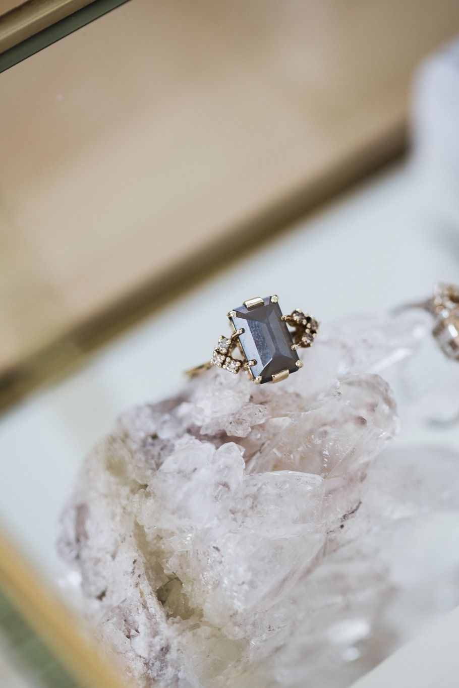 Bea Arrow Ring at the Anna Sheffield Celestine Event in Melbourne