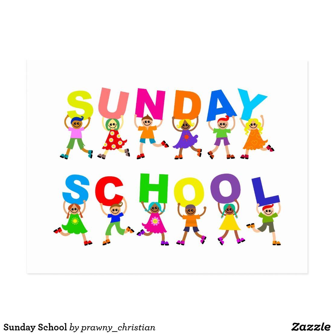 Sunday School Postcard