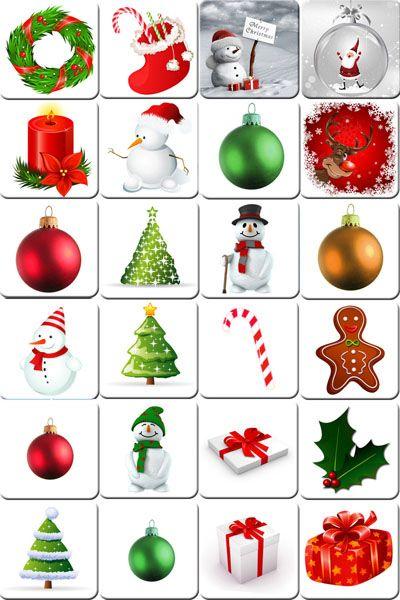 printable memory game for christmas