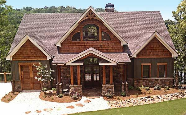 Plan 92328mx Vaulted Ceilings Rustic House Plans Mountain House Plans Craftsman House
