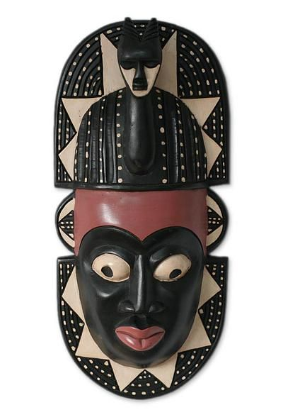 African Wood Mask Harvest Festival In 2021 African African Sculptures African Art