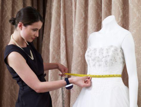Wedding Dress Alterations http://blog.austinweddings.com/advice ...