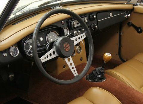 Serious Upgrades: 1969 MGB Roadster | MGB | Mg cars, Cars