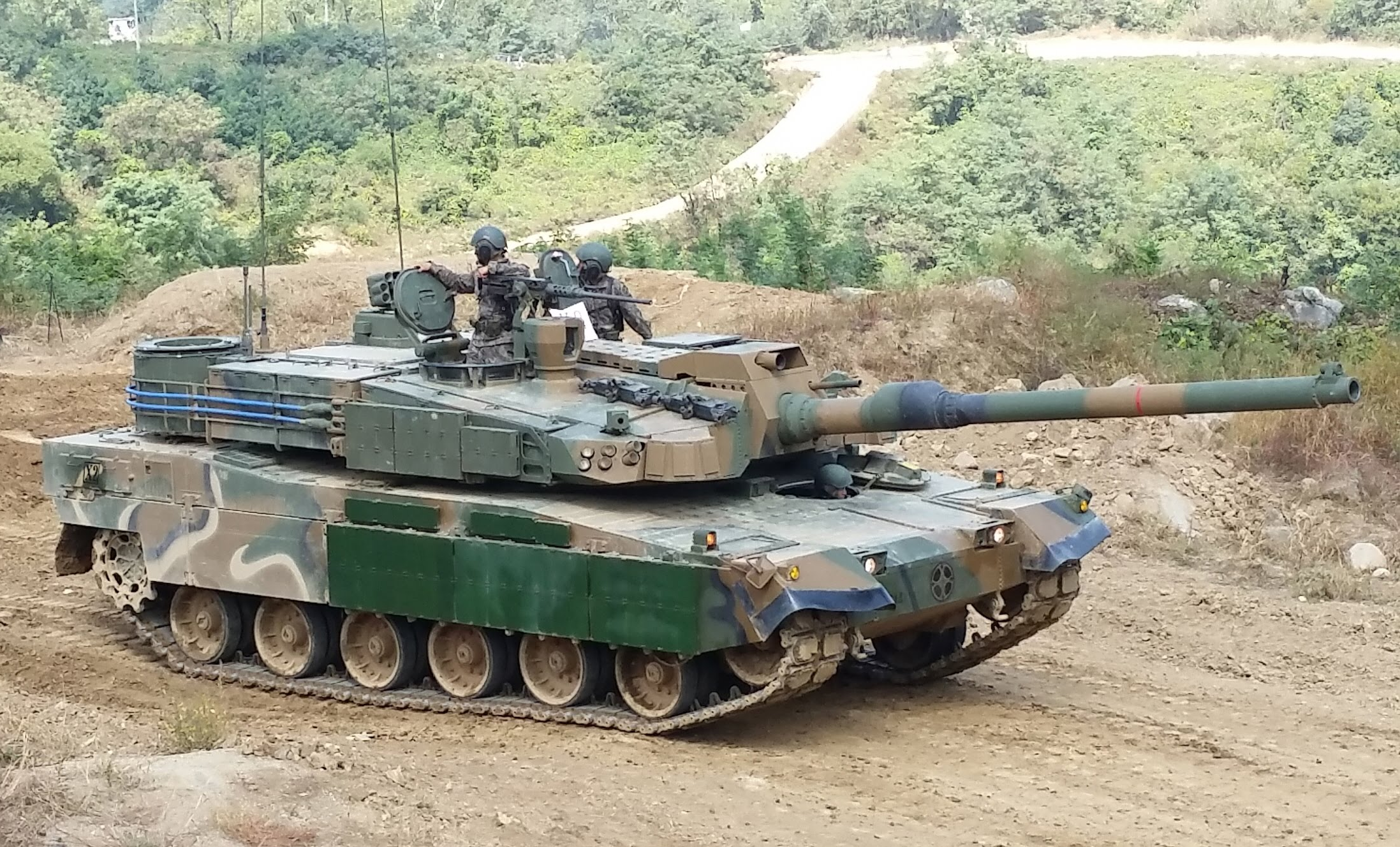 52d4496c7cd4 K2 Black Panther ROK Army MBT
