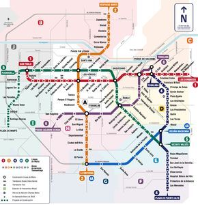 Top 5 Public Transportation Systems In South America Santiago Chile Transit Map Tourist Map