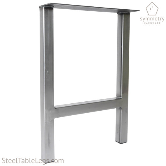 H Frame Unique Metal Dining Height