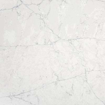 Silestone 4 Inx 2 Inquartz Countertop Sample In Pearl Jasmine Beauteous Home Depot Kitchen Countertops Design Decoration