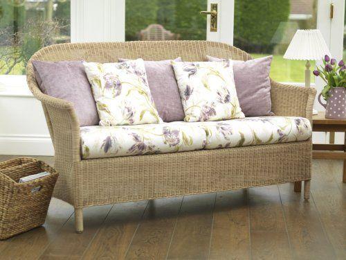 Laura Ashley Rattan Furniture Collection - Balmoral Sofa - Laura Ashley Rattan Furniture Collection - Balmoral Sofa Wicker